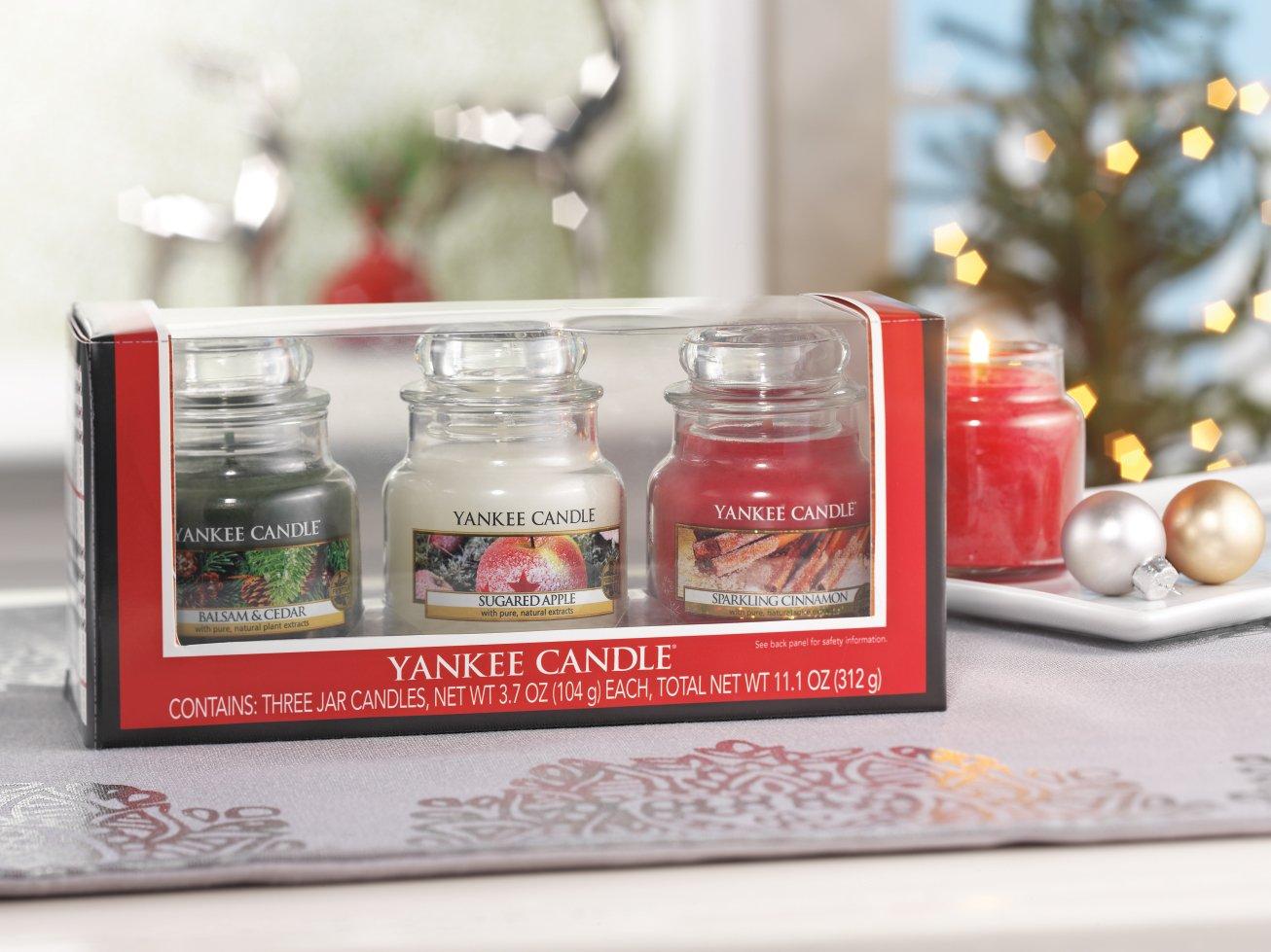 Amazoncom Yankee Candle Holiday Small Jar Trio