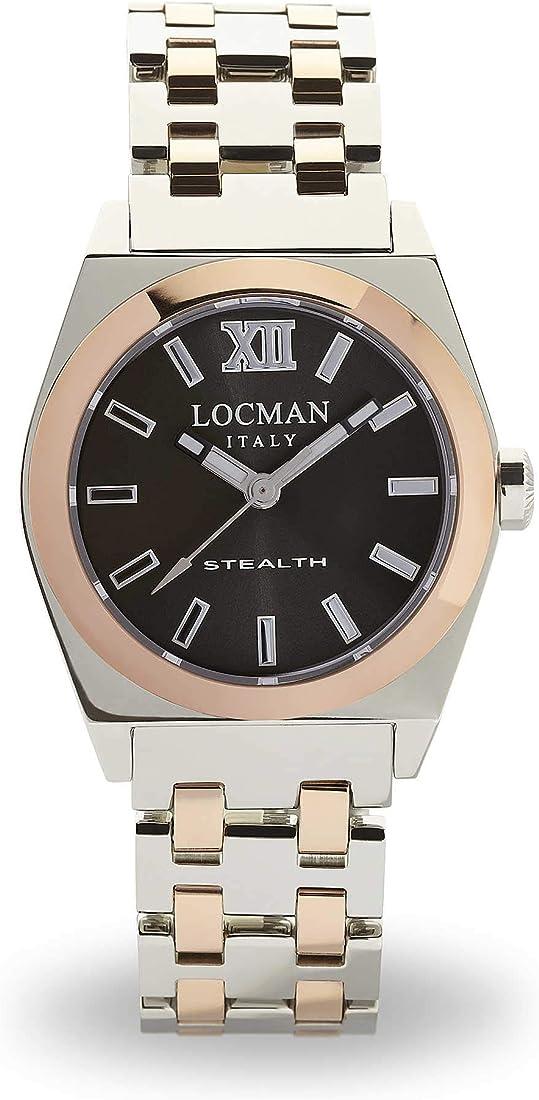 orologio solo tempo donna locman stealth casual cod. 02040rgyfnk0bar