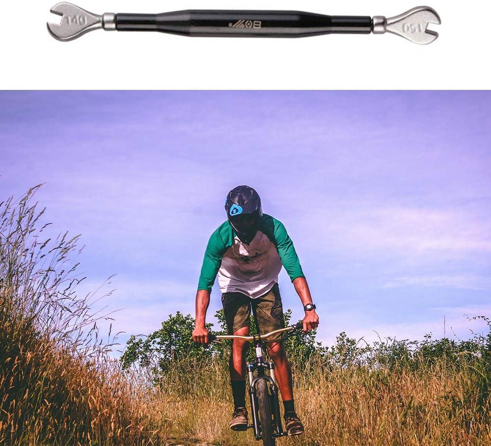 3 St/ück Speichenspanner Fahrrad Set Speichenschl/üssel Fahrradwerkzeuge Nippelspanner Fahrrad Bike Reifenheber Set Reifenheber Speichenschl/üssel f/ür Speichen Gobesty Speichenspanner