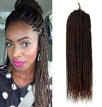 Amazoncom 6packs 18 Inch Daktou Senegalese Twist Crochet Hair