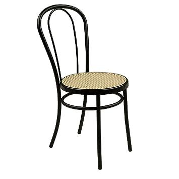 Bistrot Chaise Noire Style Bistrot Noir Alinea 410x870x500