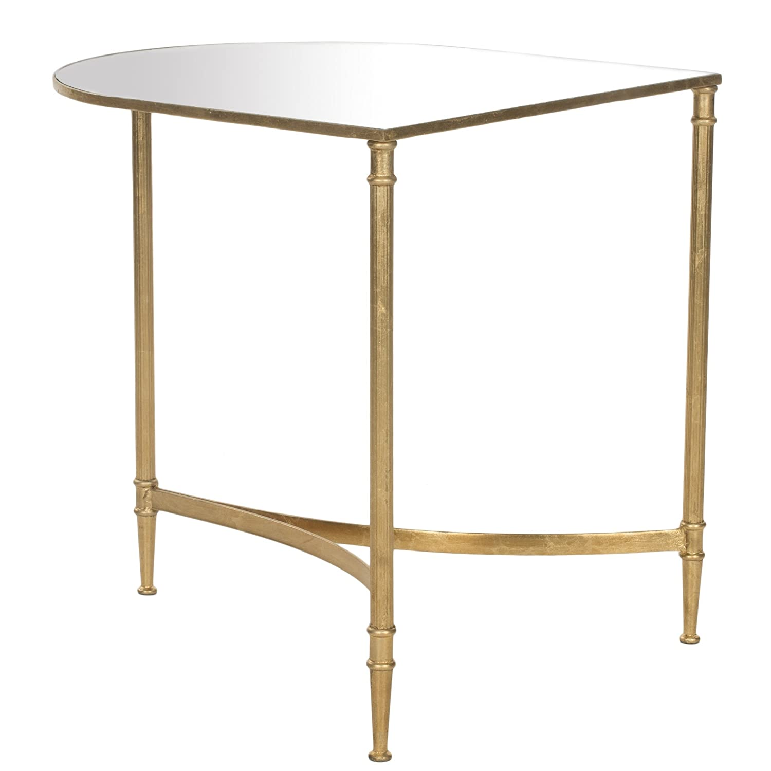 Amazon Safavieh Home Collection Nevin Gold Accent Table