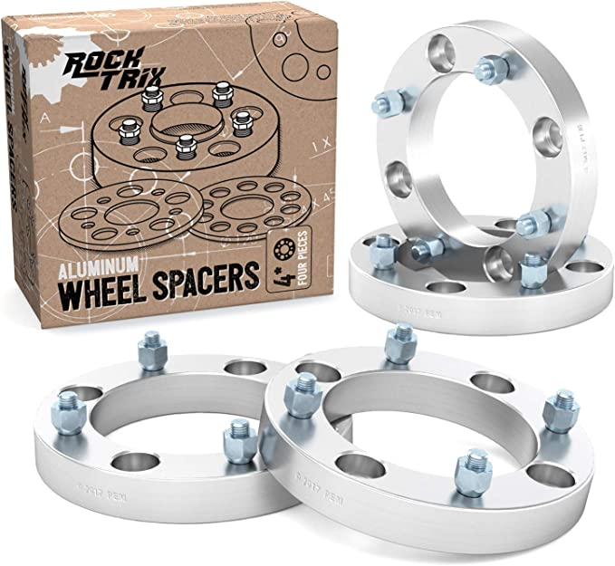 SCITOO 4X 4x137 to 4x156 12x1.5 110mm 1.25 Wheel Spacers Adapters Silver fits for 2008-2015 for Can-Am Renegade 500 2007-2008 for Can-Am Renegade 800