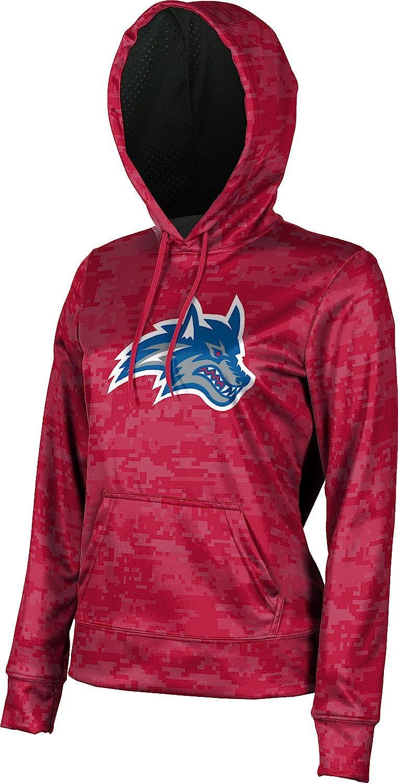 Digital School Spirit Sweatshirt Stony Brook University Girls Pullover Hoodie