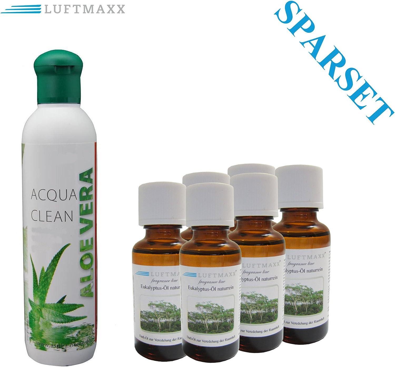 Aloe Vera Aroma plástico + 6 x Aire Maxx aceite aromático ...