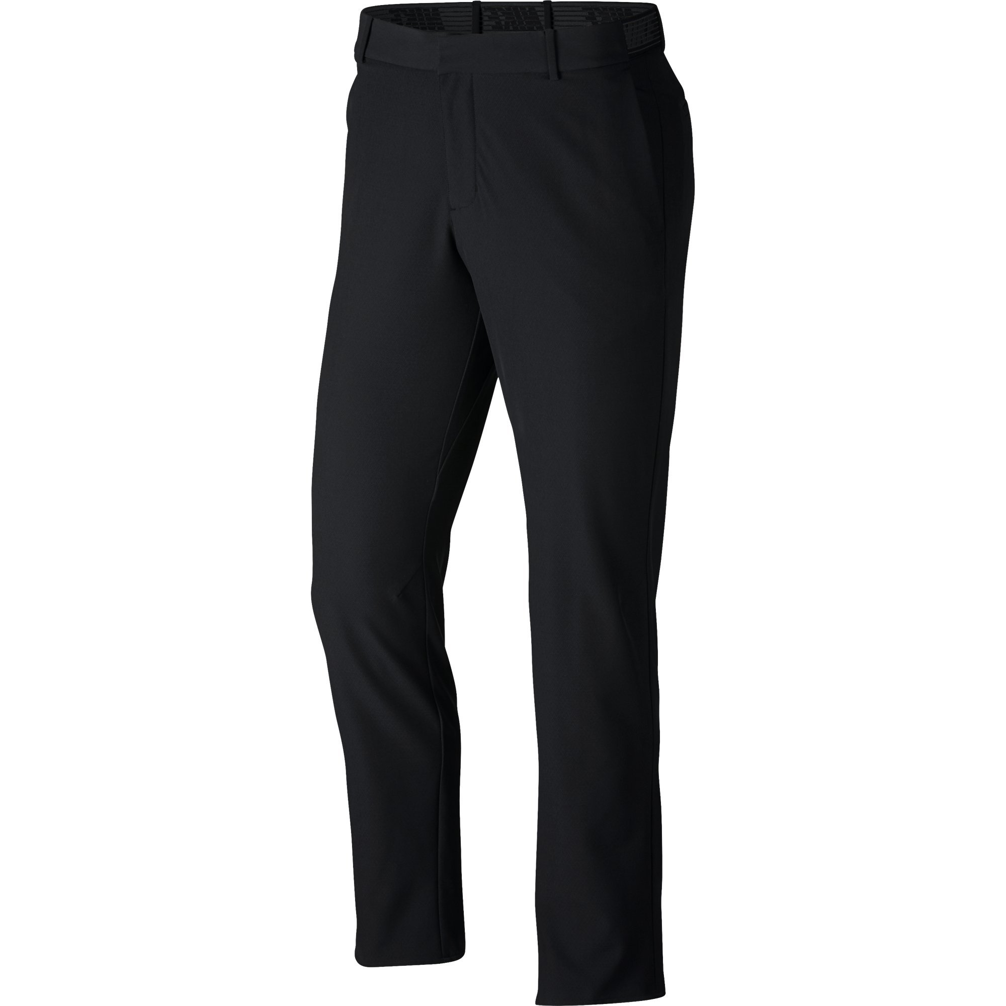 NIKE Men's Flex Slim Golf Pants, Black/Black, Size 30/30