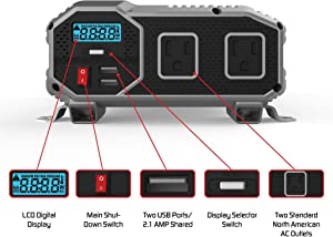ENERGIZER 2000 Watt Power Inverter