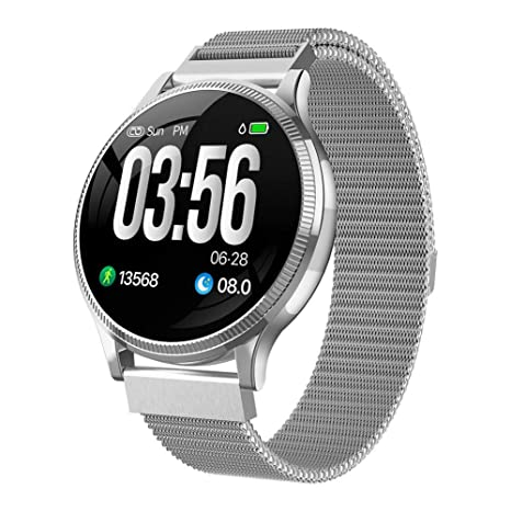 Amazon.com: Mk08 Fitness Tracker Reloj Inteligente Ip67 ...