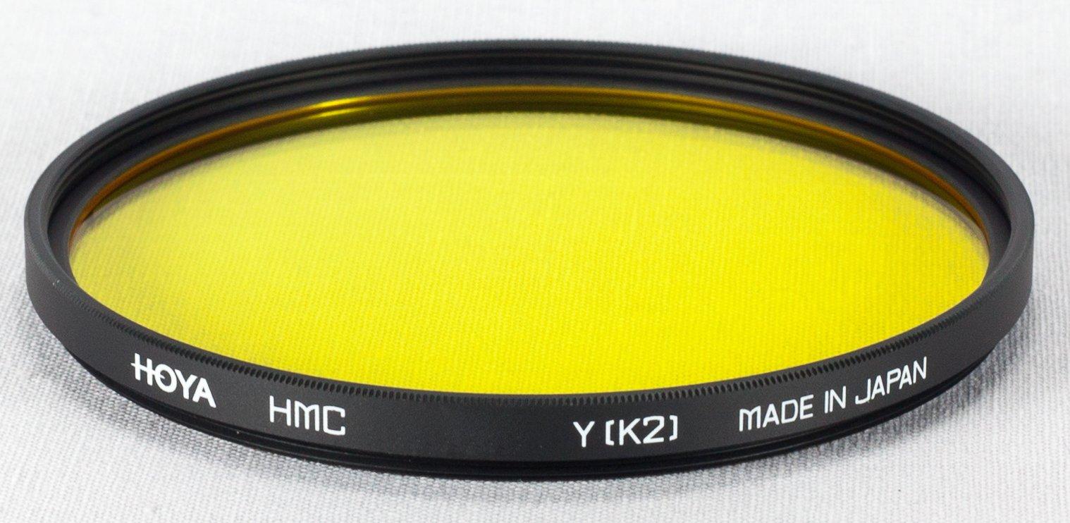 Hoya 67mm Yellow K2 Multi Coated Glass Filter
