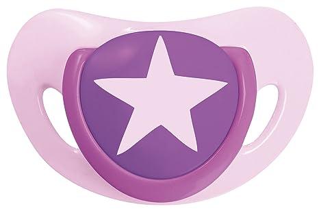 Tigex 80602238 - Chupete (Chupete clásico para bebés, Silicona, Rosa ...