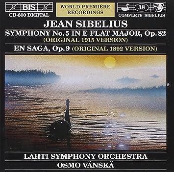 シベリウス:交響曲第5番変ホ長調
