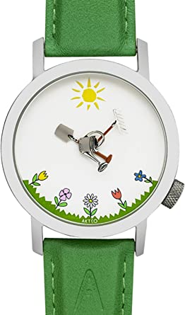 Akteo Reloj Jardín 42 mm: Amazon.es: Relojes