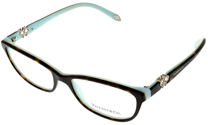 2ec71e318d Tiffany Prescription Eyeglasses Frame Women TF 2051-B 8134 Rectangular   Amazon.co.uk  Clothing