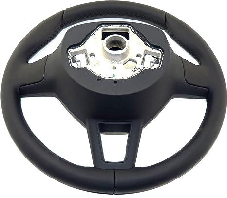 Skoda Sport Lenkrad Lederlenkrad Material Leder Schwarz Blende Schwarzverchromt Auto