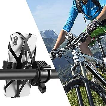 LSCZZJ Soporte Movil Bici, Porta Movil Bicicleta, 360° Rotación ...