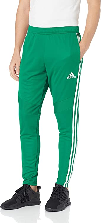 Adidas Youth Loose Core Athletic Pants Lime Green Grey