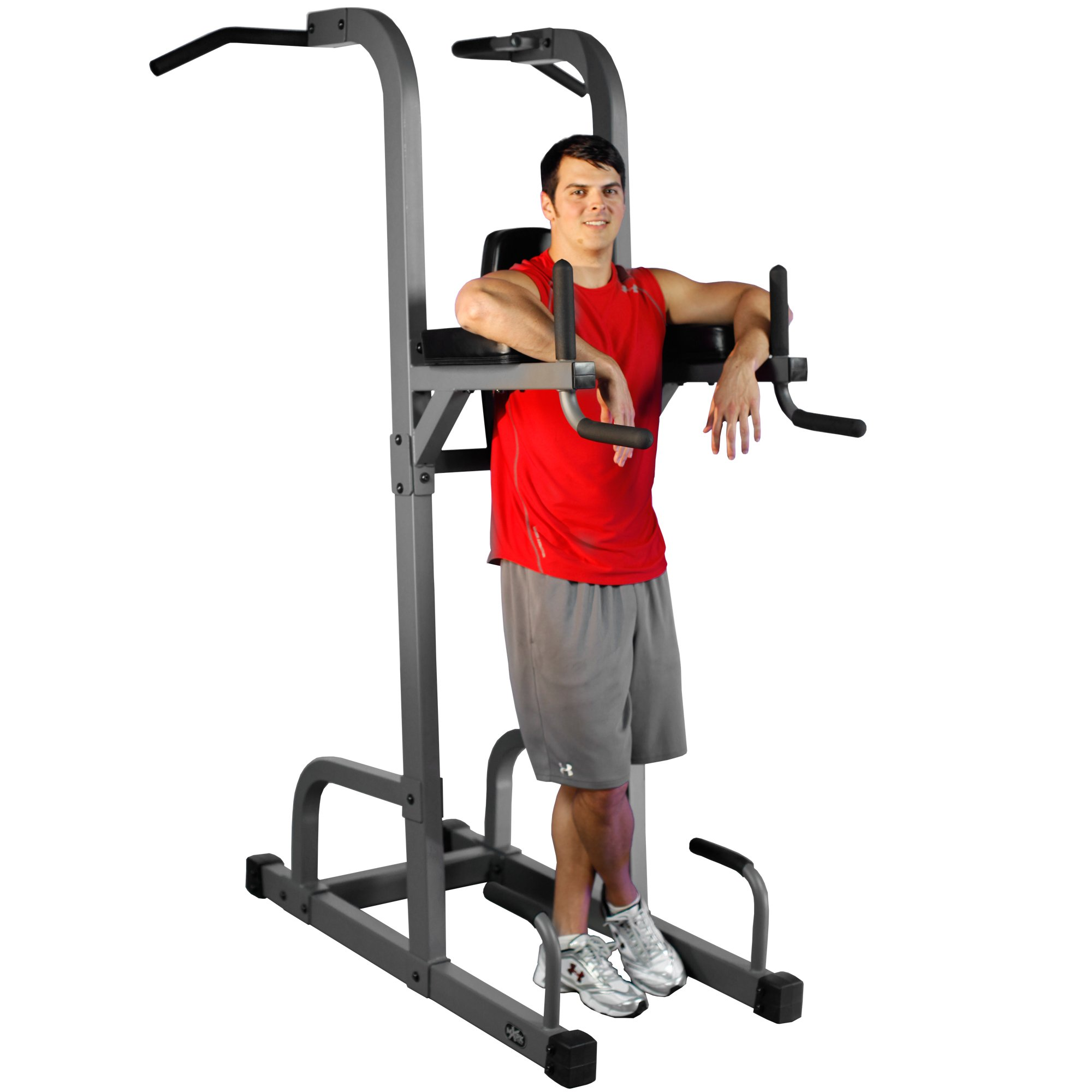 XMark  VKR Vertical Knee Raise with Dip and Pull-up Station Power Tower XM-7617 by XMark Fitness