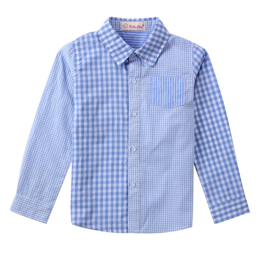 Boy Blue Plaid Shirt by BD091301