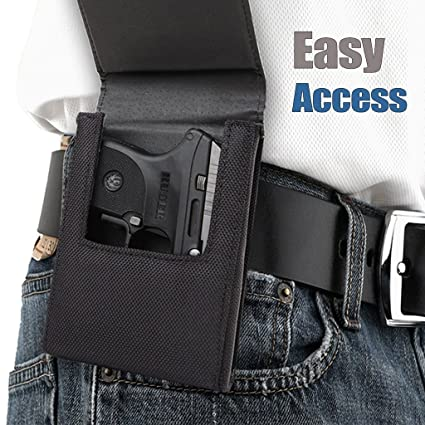 Sneaky Pete Nylon Belt Clip Holster - Small | Fits Ruger LCP & LCP2, S&W  Bodyguard 380, Sig P238, AMT Backup  380 & More!