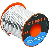 Truper SOL-50/50, Soldadura con núcleo de resina 50/50 para tubería hidráulica