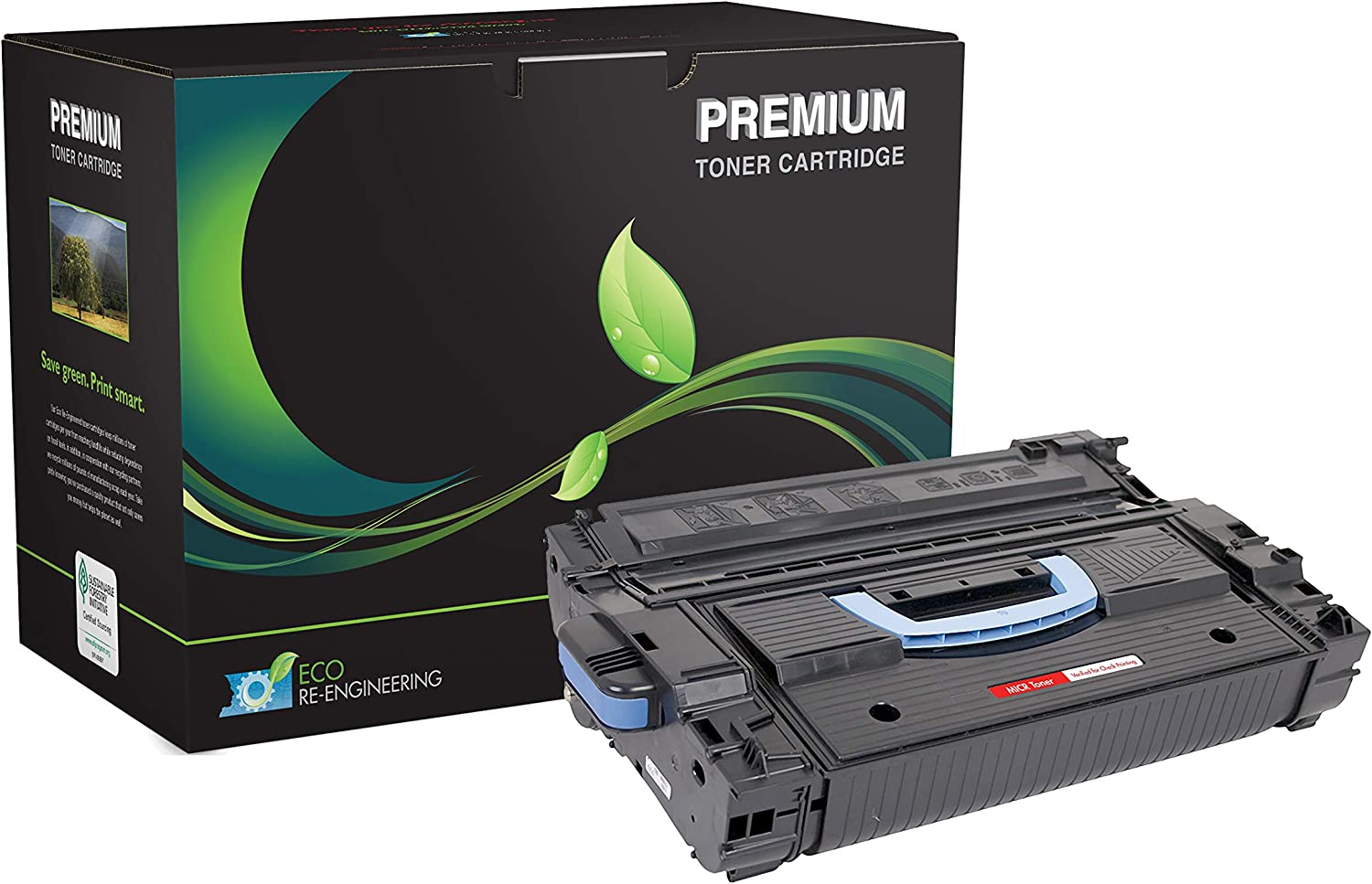 Inksters Remanufactured Toner Cartridge Replacement for HP 43X C8543X MICR for Laserjet 9000 9000N 9000DN 9000HNF 9040 9040N 9040DN 9040MFP 9050 9050N 9050DN 02-81081-001 (Black)