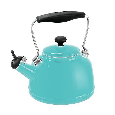 Amazon.com: Chantal - Tetera de acero esmaltado: Kitchen ...