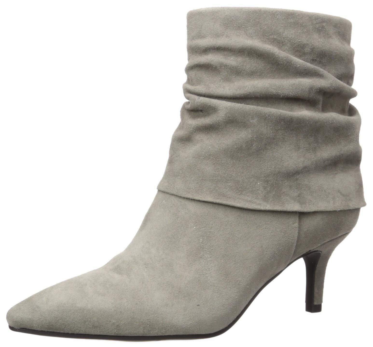 Aerosoles Women's Ramble ON Ankle Boot, Grey Suede, 11 M US by Aerosoles