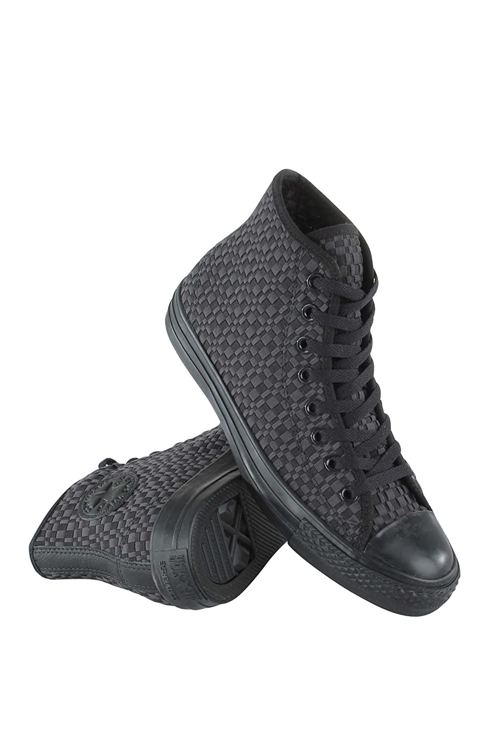 153825C MEN CHUCK TAYLOR ALL STAR HI CONVERSE BLACK/ALMOST BLACK