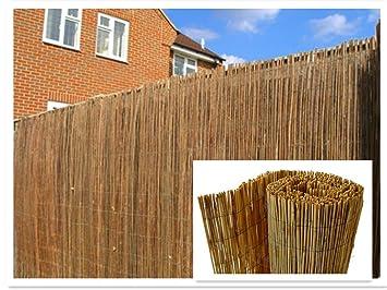 Canisse en roseau naturel, écran de clôture de 4 m 1.5m x 4m: Amazon ...
