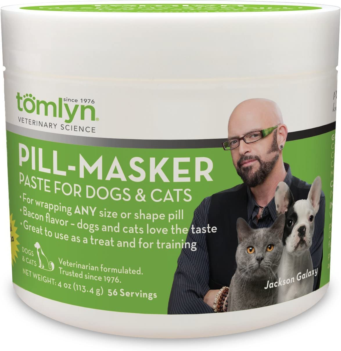 TOMLYN Pill-Masker Original for Dogs and Cats, 4oz
