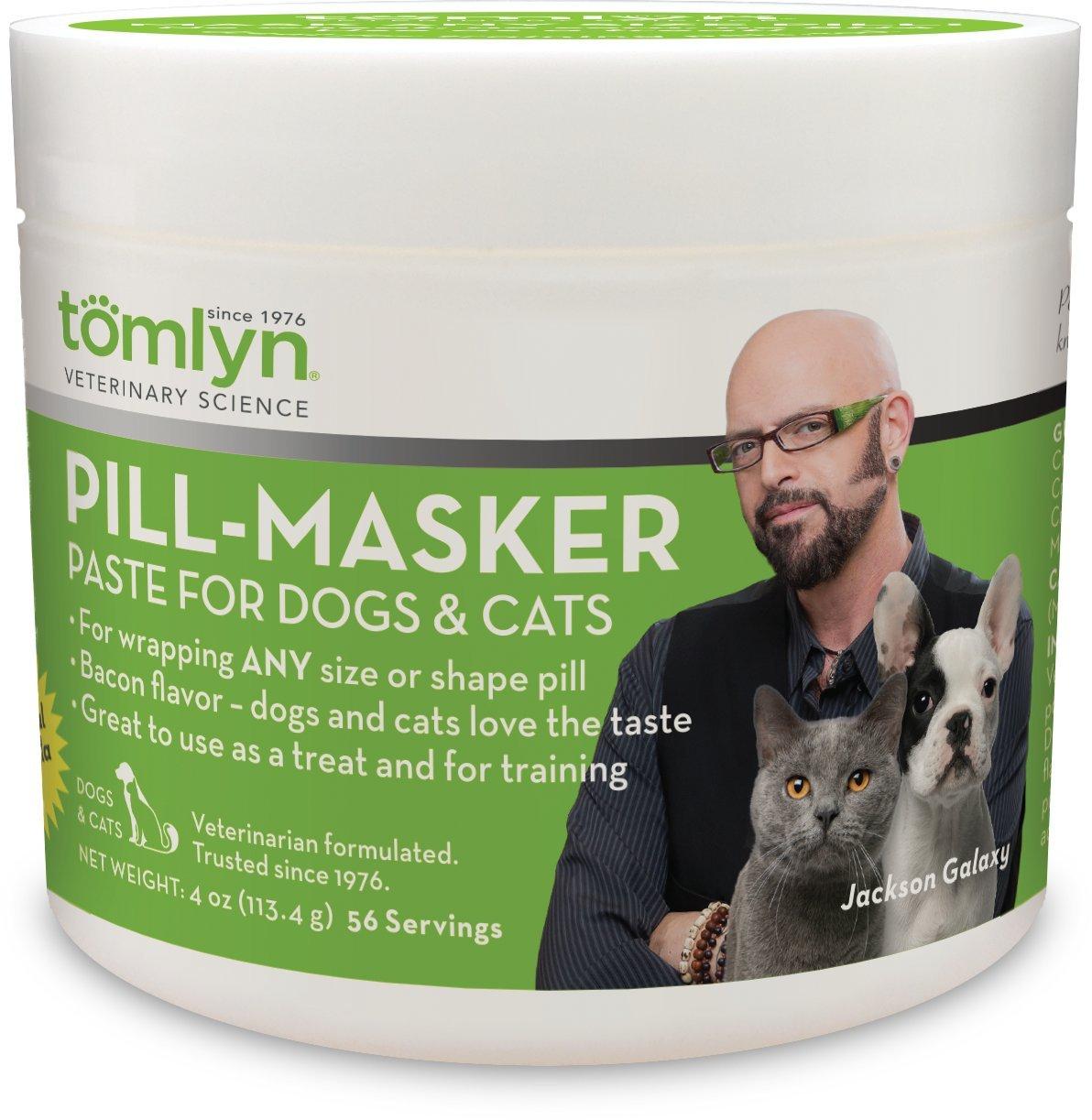 dog supplies online tomlyn pill-masker original dogs & cats bacon flavor - 4oz