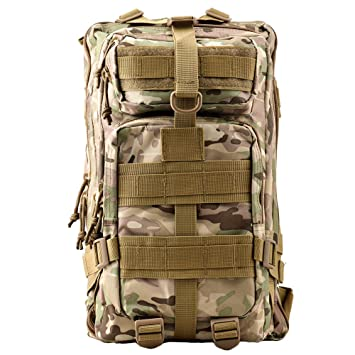Amazon.com: TTLIFE Backpack Fashionable 30L Multiple Colors Hiking Mountaineering Biking Outdoor Military Tactical Rucksack Trekking Bag for Traveling ...