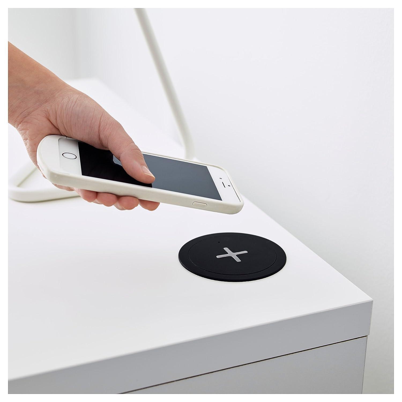 Amazon.com: IKEA RÄLLEN - Cargador inalámbrico integrado ...