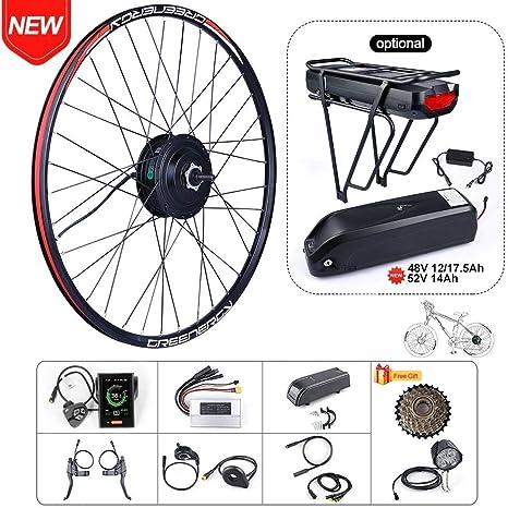 BAFAGN - Kit de conversión de bicicleta eléctrica para todo tipo ...