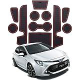 RUIYA Consola Central con reposabrazos Personalizada para 2019 2020 Corolla E210, Bandeja de Almacenamiento, Organizador de Consola, Bandeja de inserción, Accesorio para el automóvil (Rojo): Amazon.es: Coche y moto
