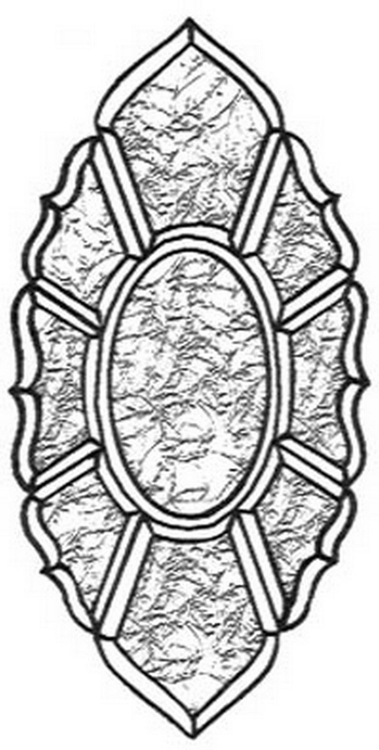 Stained Glass Supplies - Glue Chip Bevel Cluster (KB955) By Stallings Stained Glass ...