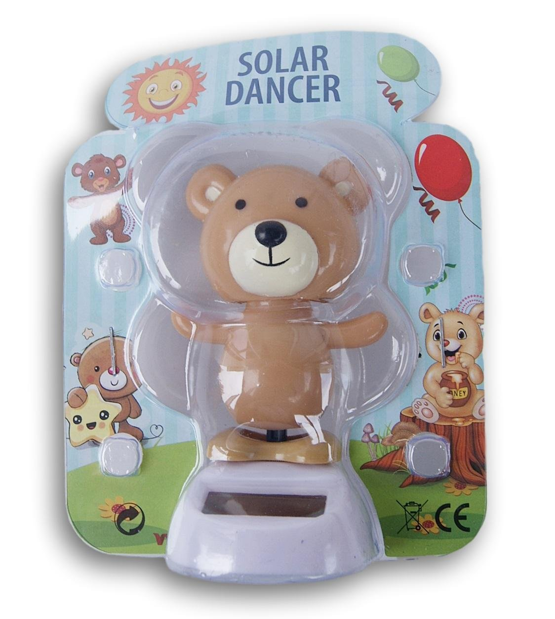 Light Bear Woodland Pals Solar Dancing Toy
