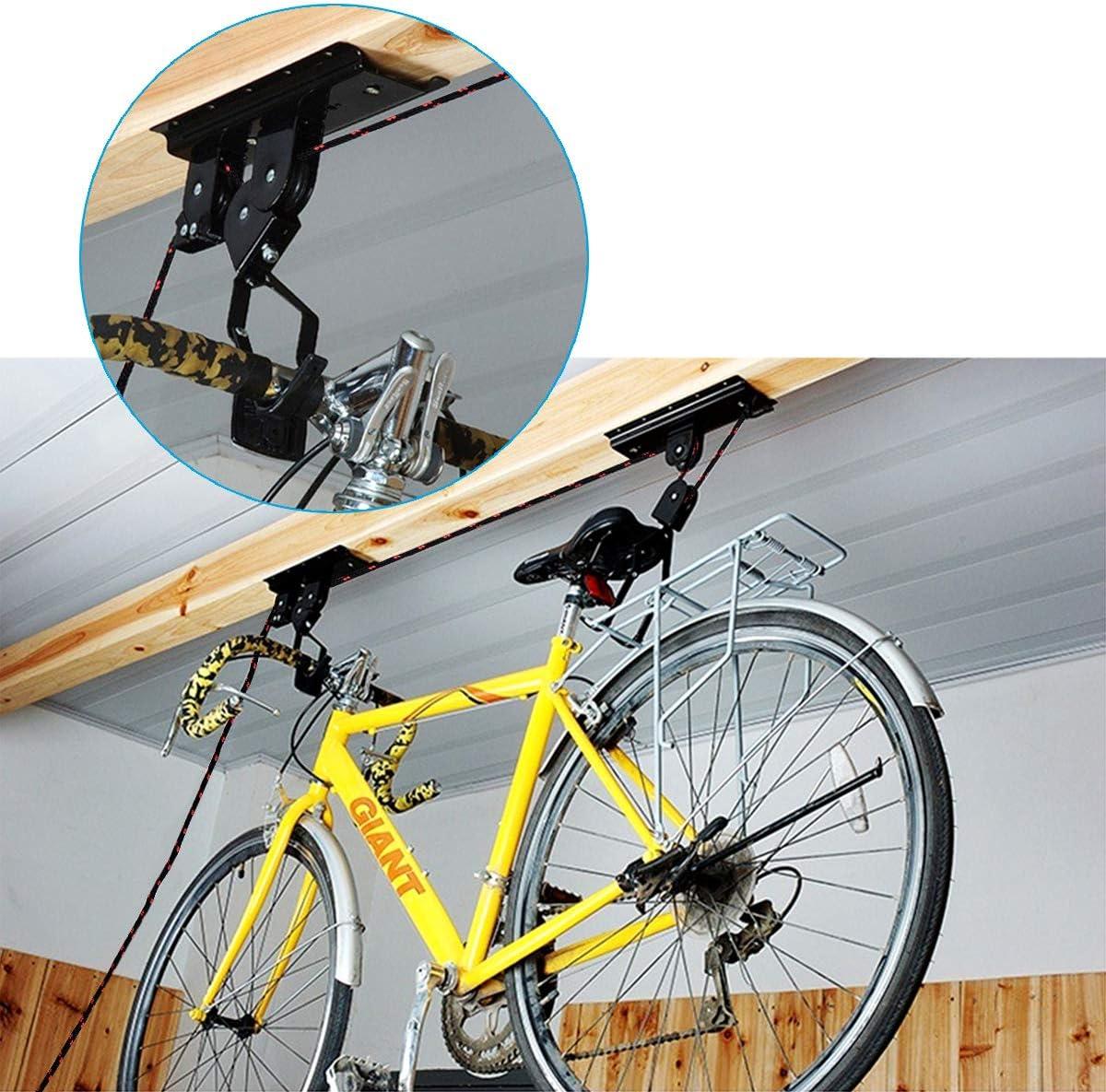 Queta - Soporte de Techo para Bicicletas: Amazon.es: Deportes y ...