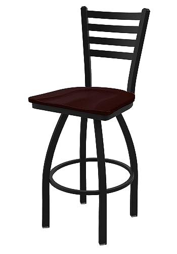 Holland Bar Stool Co. 41025BWDCOak 410 Jackie Swivel Counter Stool