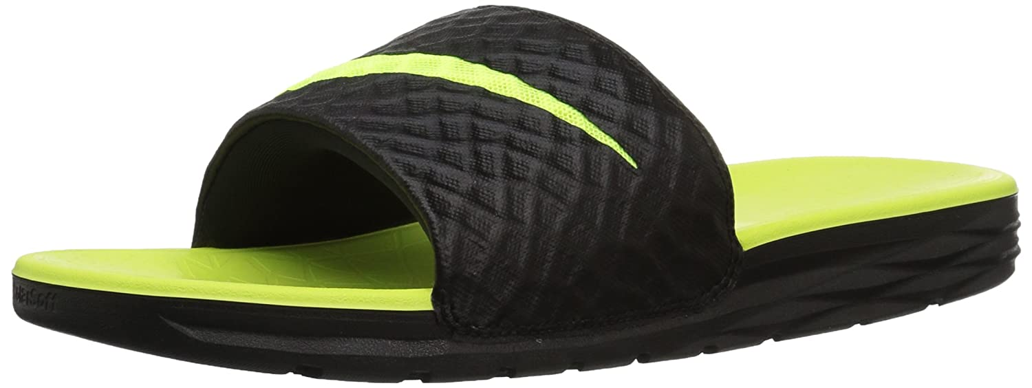 5bbce35dcb54b Nike Boys Benassi Solarsoft Slide Beach   Pool Shoes  Amazon.co.uk  Shoes    Bags