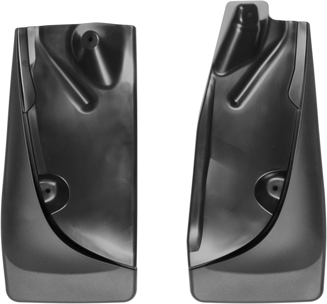 Front /& Rear Set Black 110055-120055 WeatherTech Custom MudFlaps for Toyota Tacoma