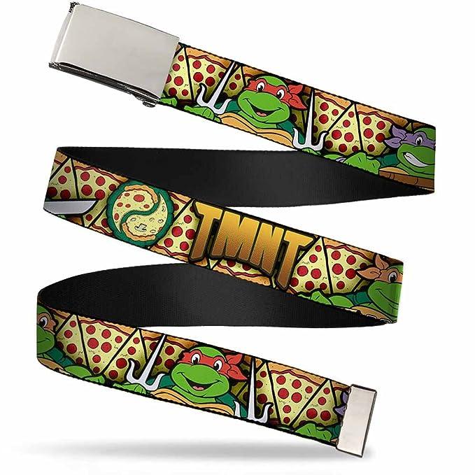 Amazon.com: Nickelodeon Big Buckle-Down Web Belt Ninja ...