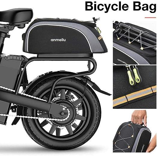 BRANDNEWS 8L Alforjas para Portaequipajes De Bicicleta Impermeable ...