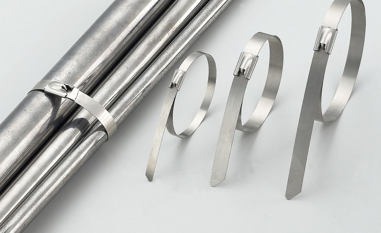 150 Lb Bag of 100 SSP6-LD 6 Inch 316 Stainless Steel Cable Tie Tensile Strength Cable Tie Supply CTS Brand