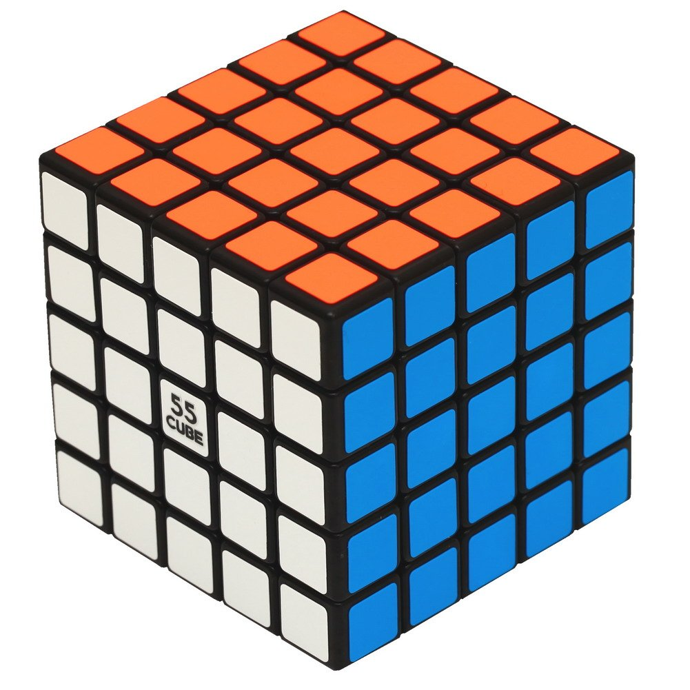 5x5 cube Professor's Cube, Upgrade Structure - More Smoothly Than Original Speed by 55CUBE, 5x5 cube Professor's Cube