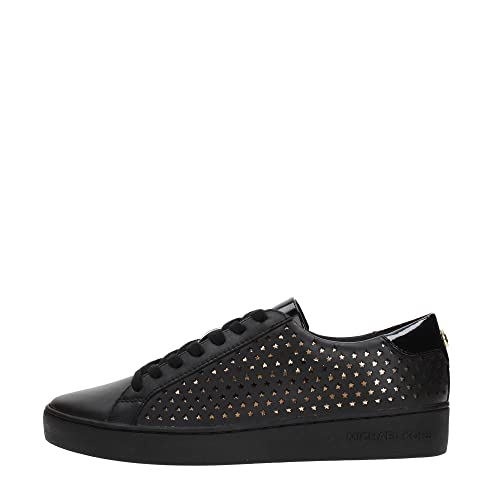 Michael Kors Irving Lace Up Mujer Zapatillas Negro: Amazon.es: Zapatos y complementos