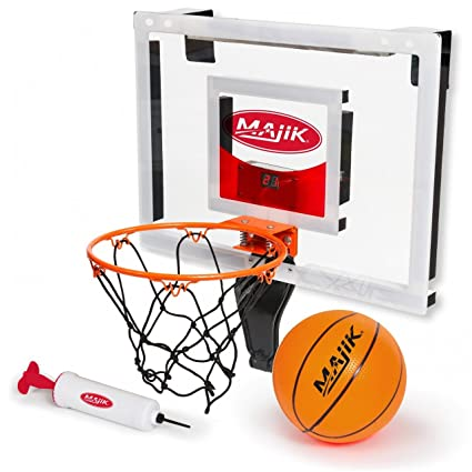 c6930f3af53 Amazon.com  Deluxe Over The Door Basketball  Toys   Games