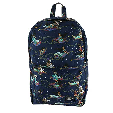 bfedde557b6 Loungefly Aladdin Magic Carpet Ride Print Backpack Standard