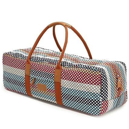 Amazon.com: Crystalzhong Yoga Mat Bag with Pocket and Zipper ...