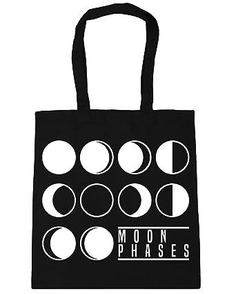 60f11518da73 HippoWarehouse Moon Phases Tote Shopping Gym Beach Bag 42cm x38cm ...